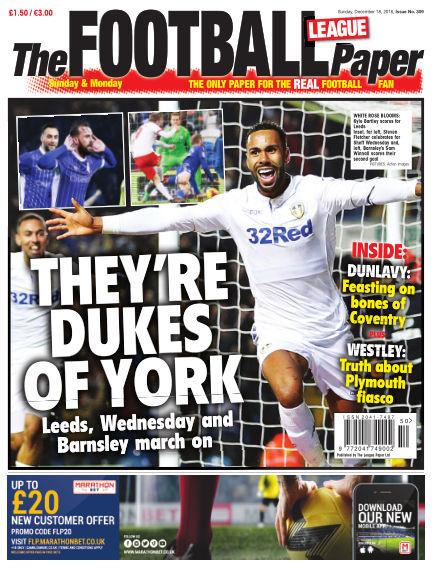 The Football League Paper December 18, 2016 00:00