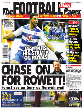The Football League Paper 27th December 2016