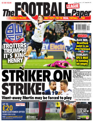 The Football League Paper 1st January 2017