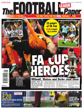 The Football League Paper 8th January 2017