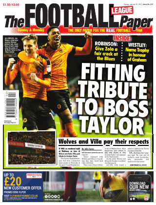 The Football League Paper 15th January 2017