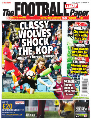 The Football League Paper 29th January 2017