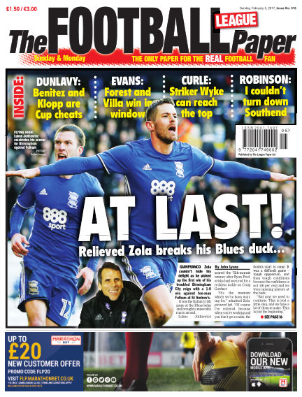 The Football League Paper February 05, 2017 00:00