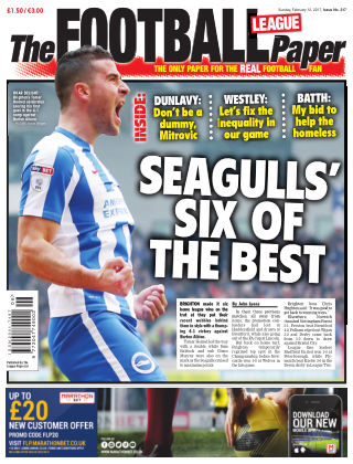 The Football League Paper 12th February 2017