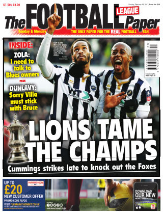 The Football League Paper 19th February 2017