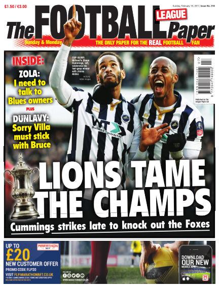 The Football League Paper February 19, 2017 00:00