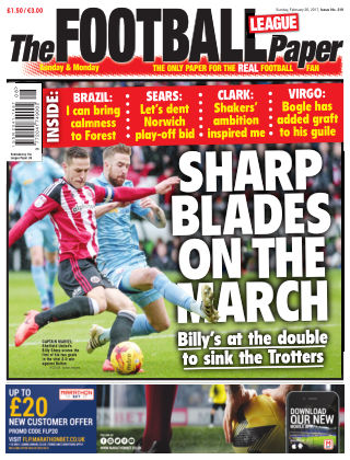 The Football League Paper 26th February 2017