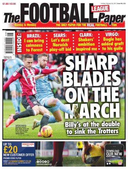 The Football League Paper February 26, 2017 00:00