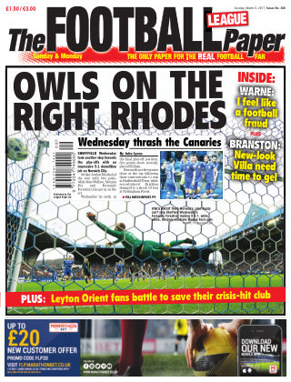 The Football League Paper 5th March 2017