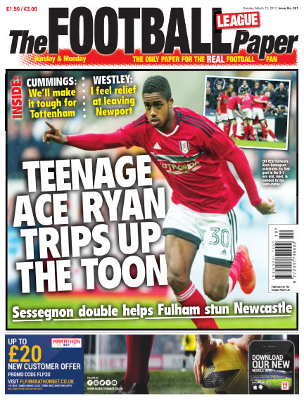 The Football League Paper March 12, 2017 00:00
