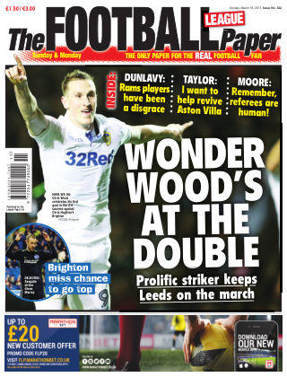 The Football League Paper 19th March 2017