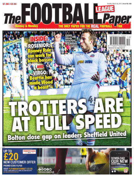 The Football League Paper March 26, 2017 00:00