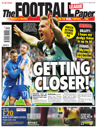 The Football League Paper 2nd April 2017