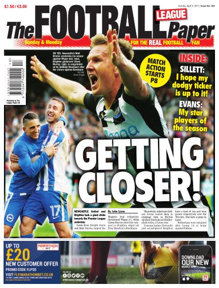 The Football League Paper April 02, 2017 00:00