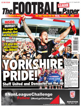 The Football League Paper 9th April 2017