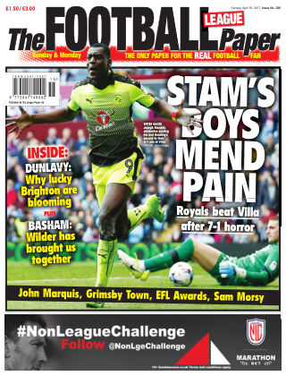 The Football League Paper 16th April 2017