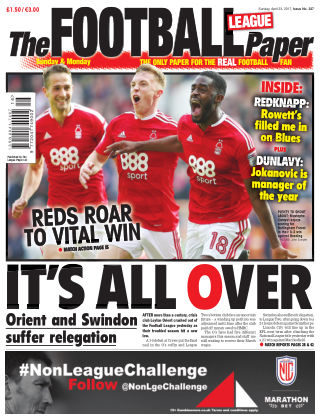 The Football League Paper 23rd April 2017