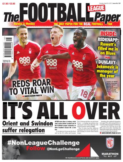 The Football League Paper April 23, 2017 00:00