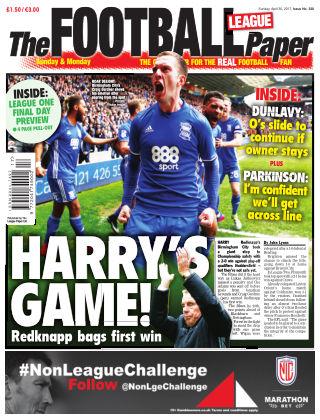 The Football League Paper 30st April 2017
