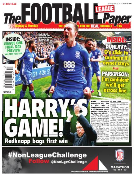 The Football League Paper April 30, 2017 00:00
