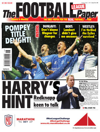 The Football League Paper 7th May 2017