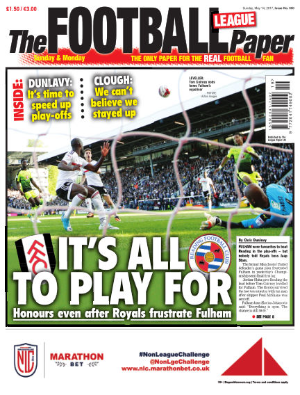 The Football League Paper May 14, 2017 00:00