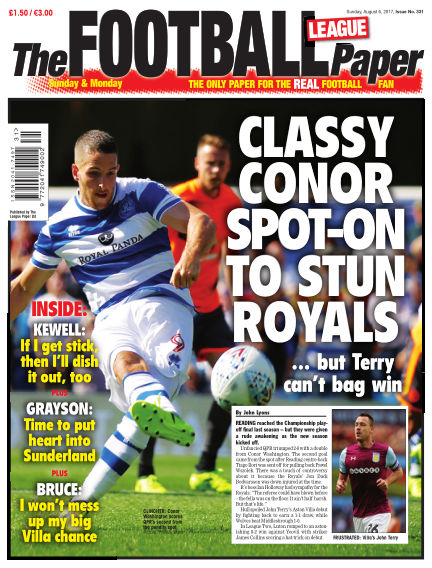 The Football League Paper August 06, 2017 00:00