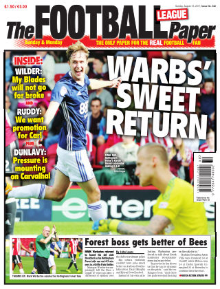 The Football League Paper 13th August 2017