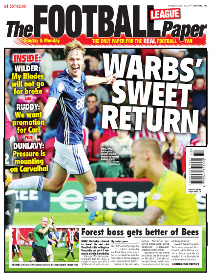 The Football League Paper August 13, 2017 00:00
