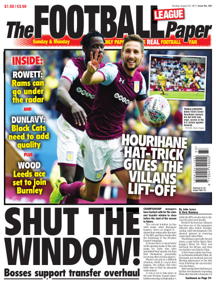 The Football League Paper August 20, 2017 00:00