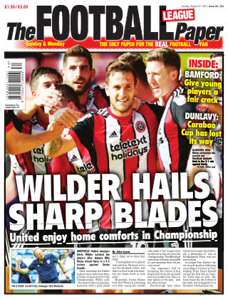 The Football League Paper 27th August 2017