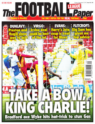 The Football League Paper 3rd September 2017