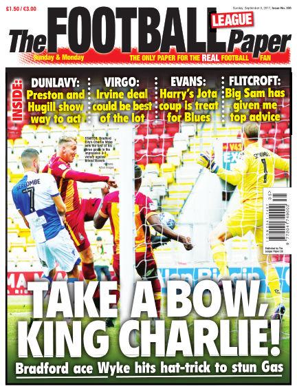 The Football League Paper September 03, 2017 00:00