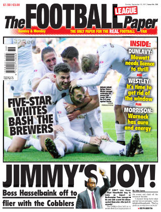 The Football League Paper 10th September 2017