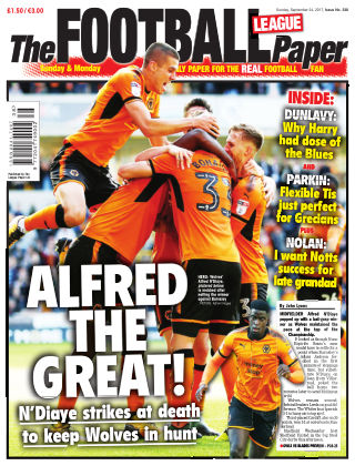 The Football League Paper 24th September 2017