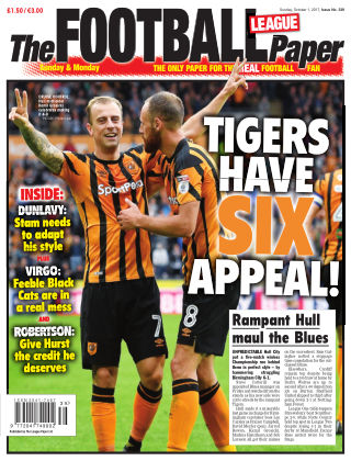 The Football League Paper 1st October 2017