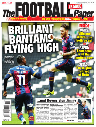 The Football League Paper 8th October 2017