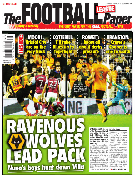 The Football League Paper October 15, 2017 00:00