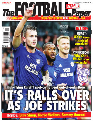 The Football League Paper 22nd October 2017