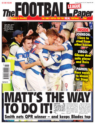 The Football League Paper 29th October 2017
