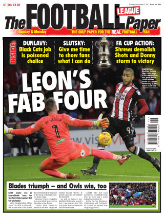 The Football League Paper 5th November 2017