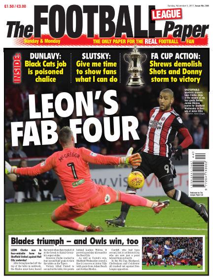 The Football League Paper November 05, 2017 00:00