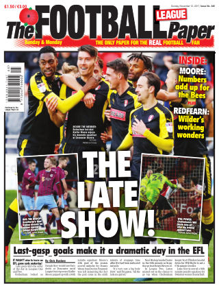 The Football League Paper 12th November 2017