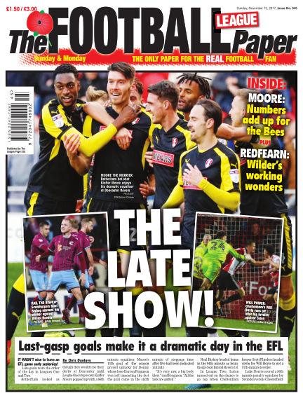 The Football League Paper November 12, 2017 00:00