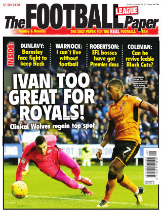The Football League Paper 19th November 2017