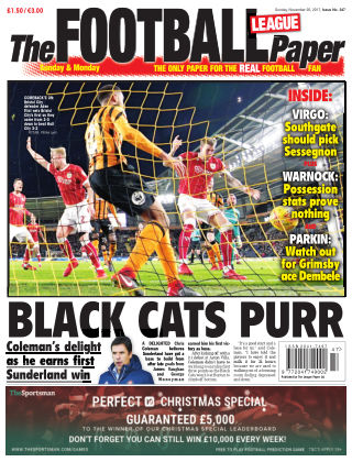 The Football League Paper 26th November 2017
