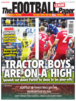 The Football League Paper 3rd December 2017