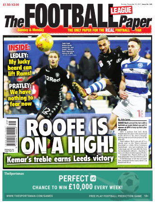 The Football League Paper 10th December 2017