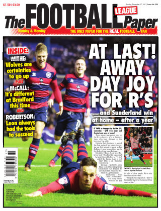 The Football League Paper 17th December 2017
