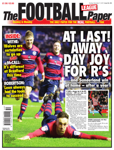 The Football League Paper December 17, 2017 00:00